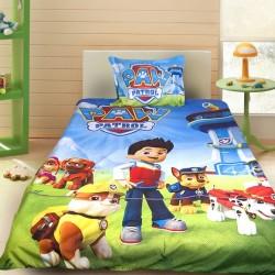 3D луксозен детски спален комплект Paw Patrol