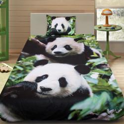 3D луксозен детски спален комплект Panda