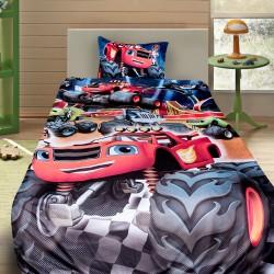 3D луксозен детски спален комплект с Blaze