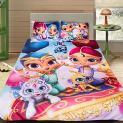 3D луксозен детски спален комплект Shimmer And Shine 2