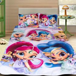 3D луксозен детски спален комплект Shimmer And Shine