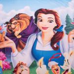 3D луксозен детски спален комплект The Beauty And The Beast