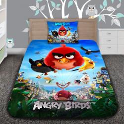 3D луксозен детски спален комплект ANGRY BIRDS