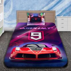 3D луксозен детски спален комплект с ASPHALT