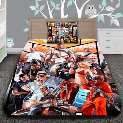 3D луксозен детски спален комплект GRAND THEFT AUTO