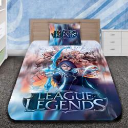 3D луксозен детски спален комплект с LEAGUE LEGENDS