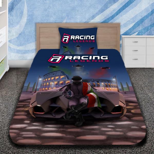 3D луксозен детски спален комплект с RACING