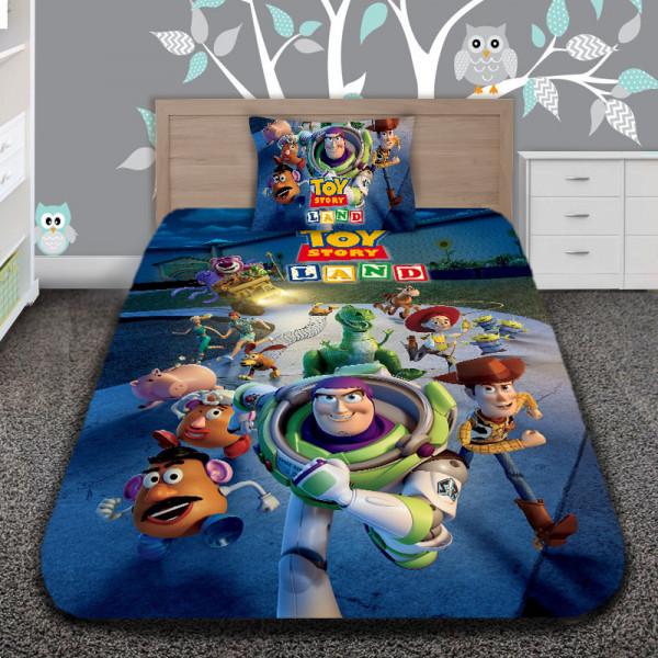 3D луксозен детски спален комплект TOY LANND