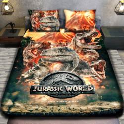 3D луксозен детски спален комплект JURASSIC WORLD