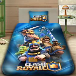 3D луксозен детски спален комплект CLASH ROYALE