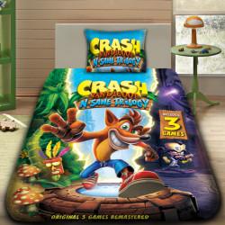 3D луксозен детски спален комплект CRASH