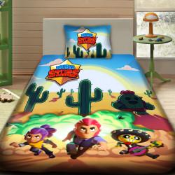 3D луксозен детски спален комплект BRAW STARS