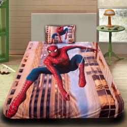 3D луксозен детски спален комплект City Spiderman
