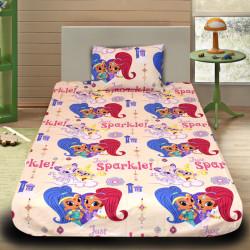 Комплект от детско луксозно спално бельо Искрица и Сияйница