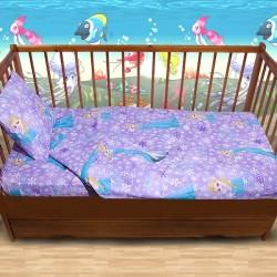 Комплект от спално бельо за бебе Frozen