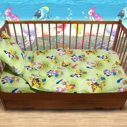 Комплект от спално бельо за бебе Daisy Duck