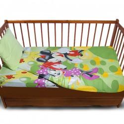 Комплект от спално бельо за бебе Mickey Mouse