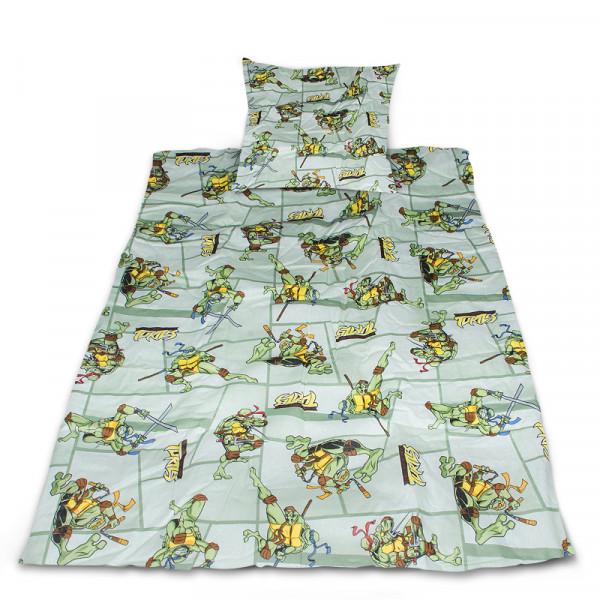 Комплект от спално бельо за бебе Костенурките нинджа