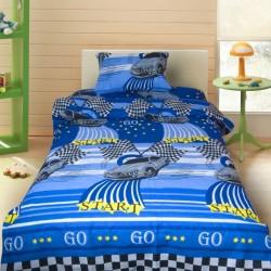 Комплект от детско луксозно спално бельо Кола