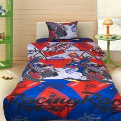 Комплект от детско луксозно спално бельо Racing