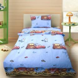 Комплект от детско луксозно спално бельо за момче Mc Queen