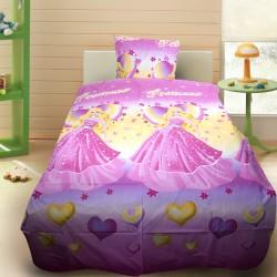 Комплект от детско луксозно спално бельо Barbie