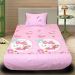 Комплект от детско луксозно спално бельо Hello Kitty