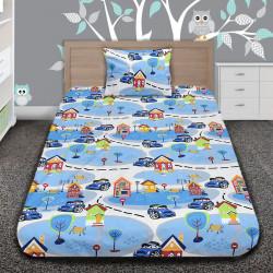 Комплект от детско луксозно спално бельо DownTown