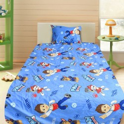 Комплект от детско луксозно спално бельо Paw Patrol