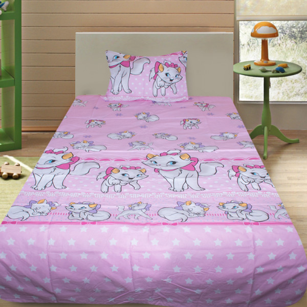 Комплект от детско луксозно спално бельо Catsy