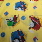 Детски спален комплект Tomas the train в жълто