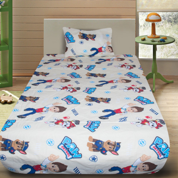 Комплект от детско луксозно спално бельо Paw Patrol 3