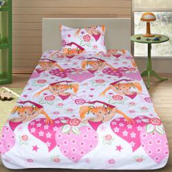Комплект от детско луксозно спално бельо Pretty girl