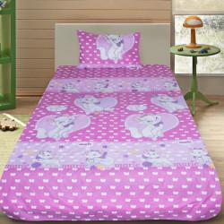 Комплект от луксозно детско спално бельо Marrie в розово