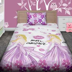 Комплект от детско луксозно спално бельo MON AMOUR