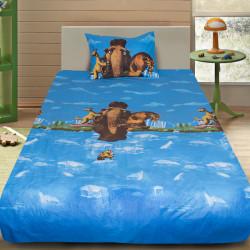 Комплект от детско луксозно спално бельо Blue Ace Age