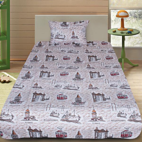 Комплект от детско луксозно спално бельо Tourism