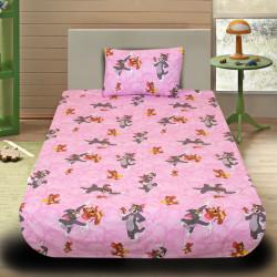 Комплект от детско луксозно спално бельо Tom and Jerry
