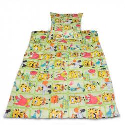 Комплект от спално бельо за бебе Sponge Bob 2