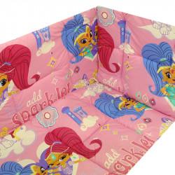 Обиколници за бебешка кошара Shimmer and Shine Pink