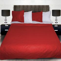 Комплект от луксозно спално бельо Red and White