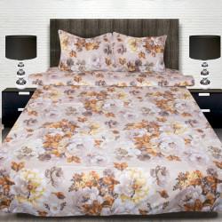 Комплект от луксозно спално бельо с голяма щампа на Санди