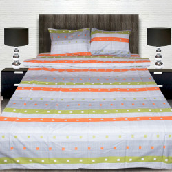 Комплект от луксозно спално бельо с голяма щампа на Tito