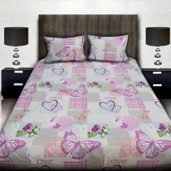 Комплект от луксозно спално бельо Пеперуди