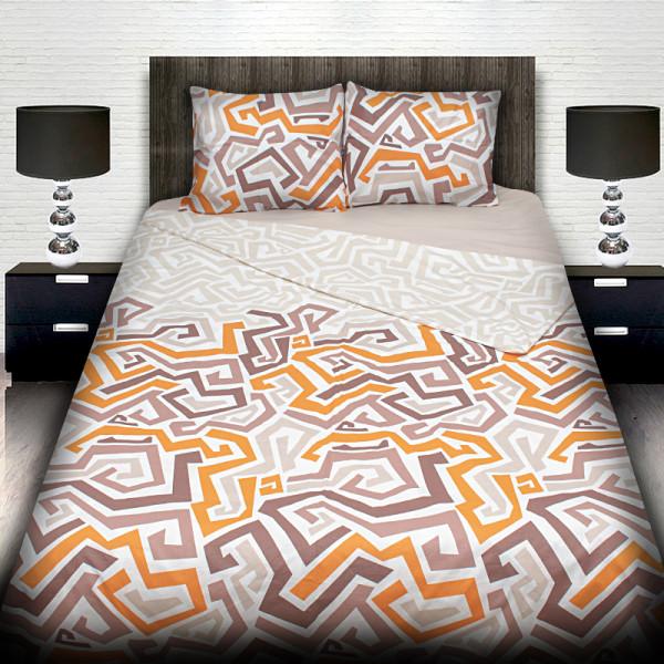 Луксозно спално бельо ранфорс LABIRINT