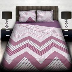 Комплект от луксозно спално бельо Zig-Zag