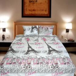 Комплект от луксозно спално бельо Айфеловата кула