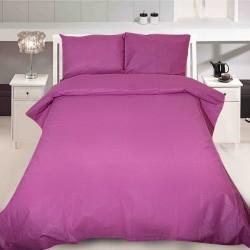 Комплект от луксозно спално бельо Лилав