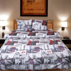 Комплект от луксозно спално бельо Tower Bridge