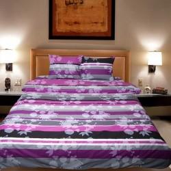 Комплект от луксозно спално бельо Purple Love